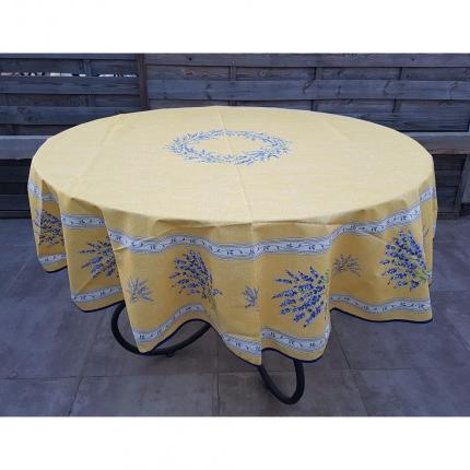 Valensole nappe ronde