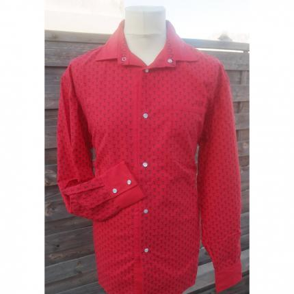 Chemise trident rouge